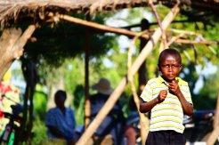 Boy at the market in Kasenda