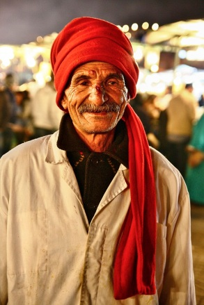 Man in Marrakesh