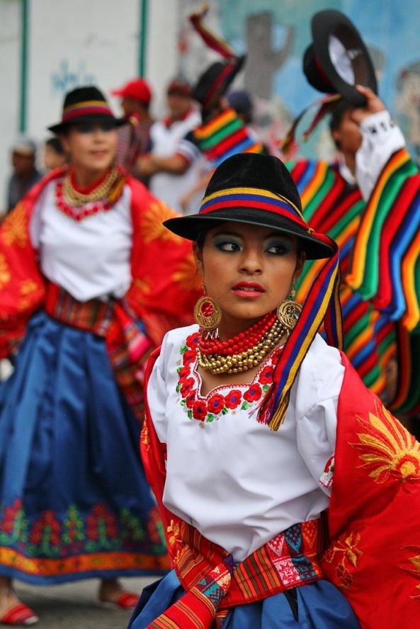 Dancing chica