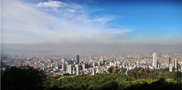 View from Cerro de Monserrate