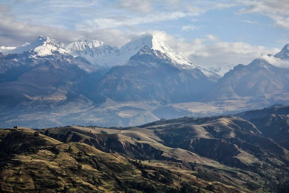 The stunnigly beautiful Andes in Peru. The start of one long, mind-opening journey.