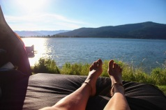 Morning view in Sandpoint